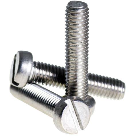 ISO公制螺纹螺钉(多种头型)